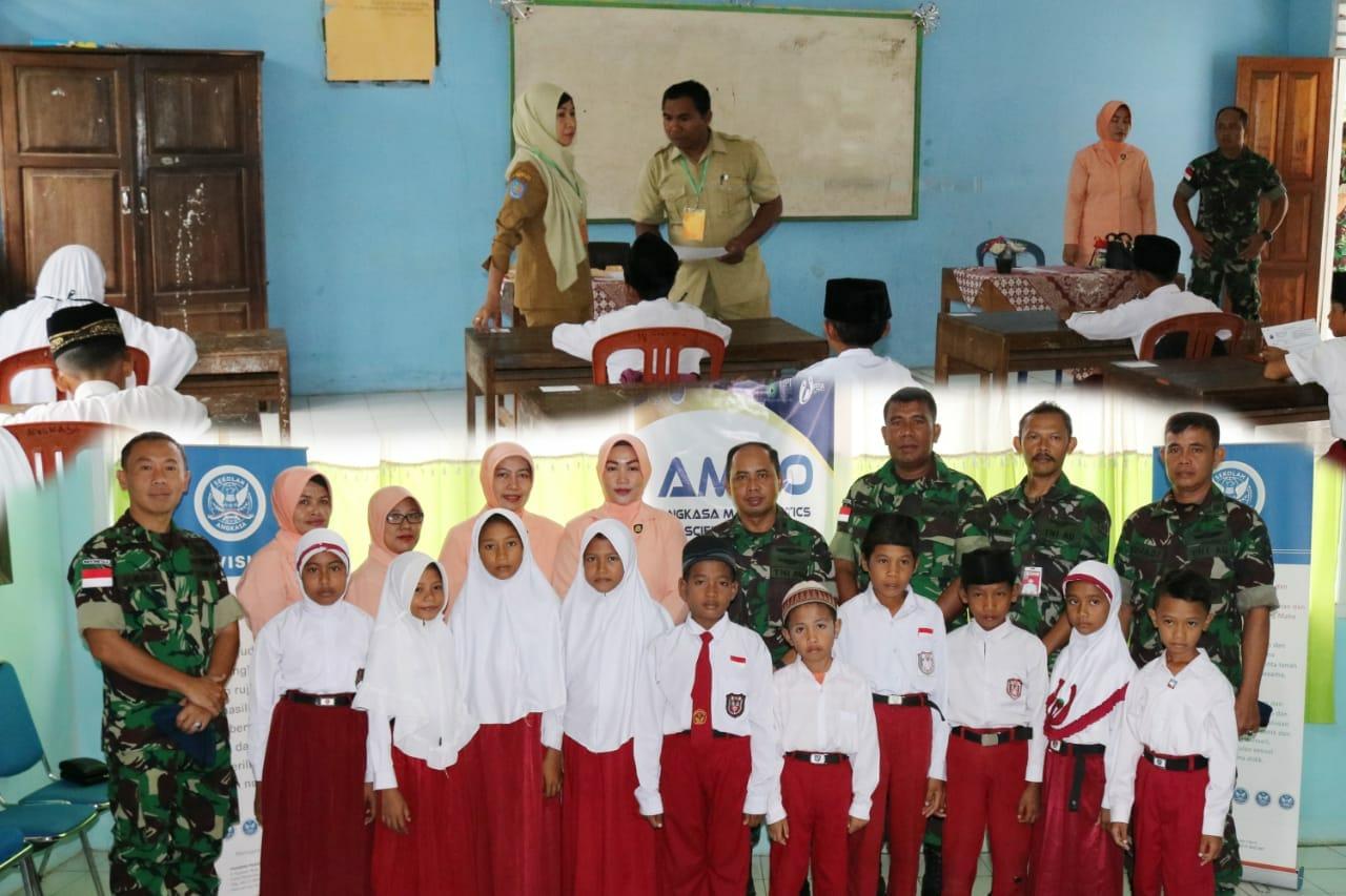 TNI-AU bantu Program Pemerintah, Tingkatkan SDM Pendidikan