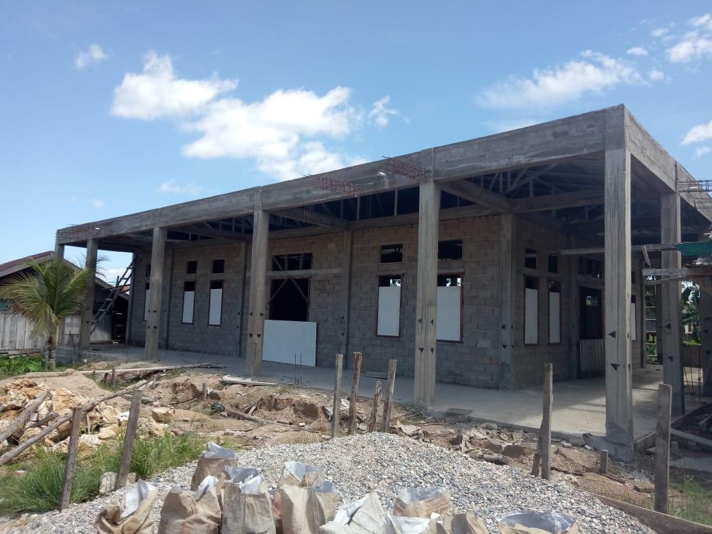 Dikerjakan Kontraktor, Bansos Pembangunan Masjid Ar-Rahman Desa Talo disoal