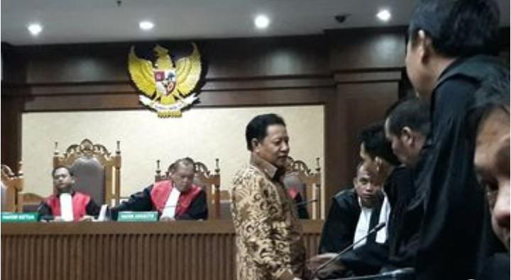 Eks Bupati Kepsul AHM Divonis 4 Tahun Penjara