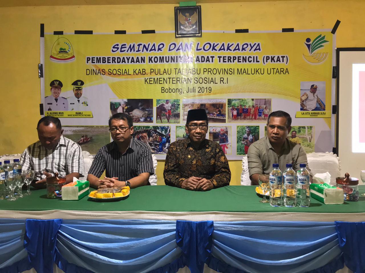 Ketua Prodi Antropologi Unkhair Jadi Narasumber di Semiloka Daerah KAT