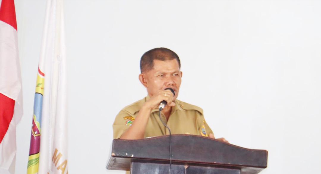 Sekda Halteng Buka Musrenbang Kecamatan Weda