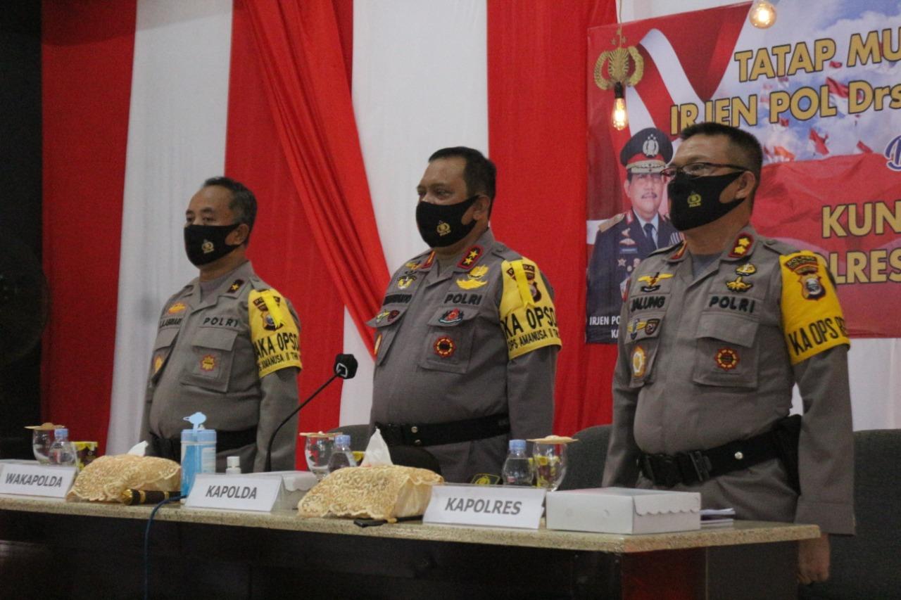 Kapolda Malut : Kalau Jadi Polisi Jangan Arogan
