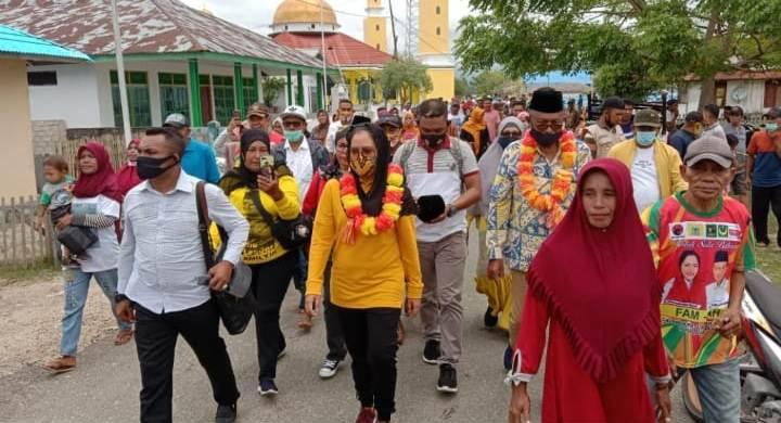 Sambangi 6 Desa, FAM-SAH Ajak Masyarakat Bersama-sama Bangun Sula Bahagia