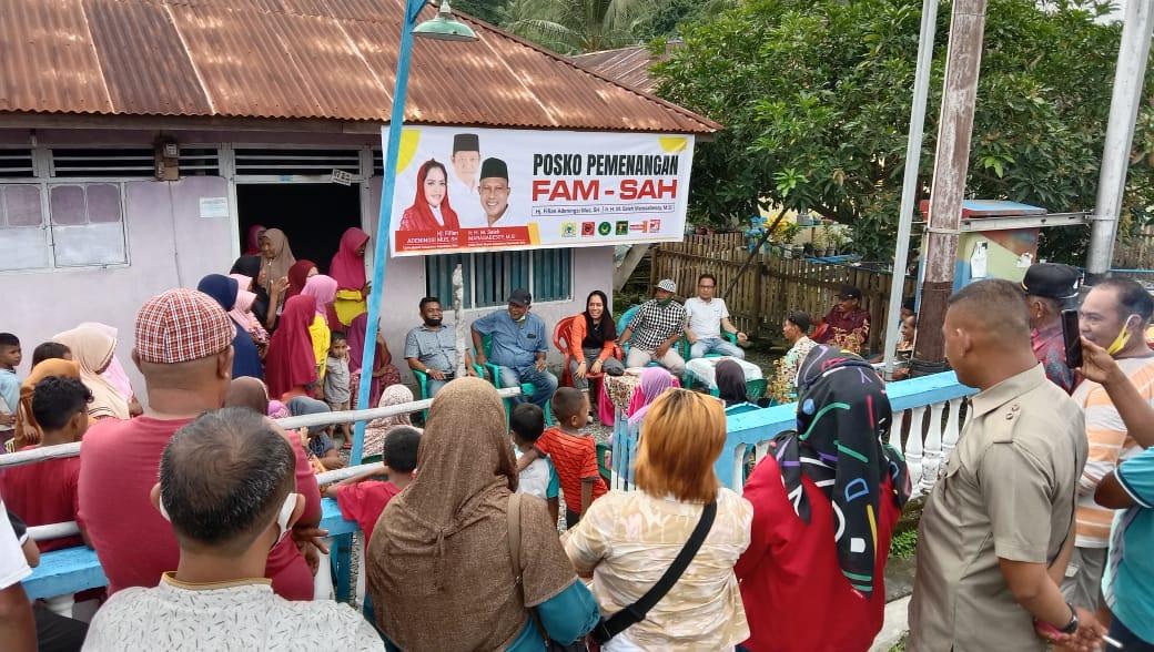 Usai Penetapan KPU, Paslon FAM-SAH Tancap Gas Blusukan ke Desa-desa