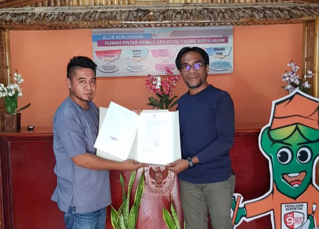 SK Pemberhentian Guntur Alting dari ASN Resmi diterima KPU