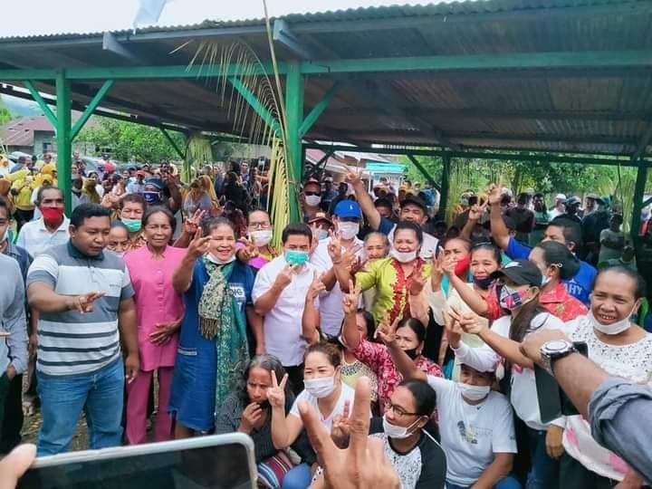 Paslon Ubaid-Anjas Paparkan Visi-Misi di Kecamatan Maba