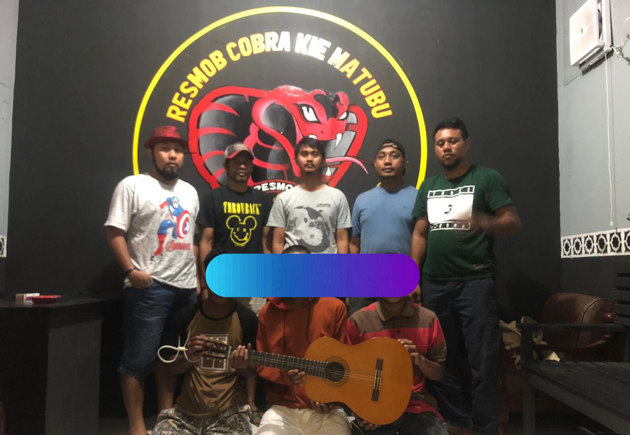 Curi Gitar, Tiga Pemuda Doyado diringkus Polisi