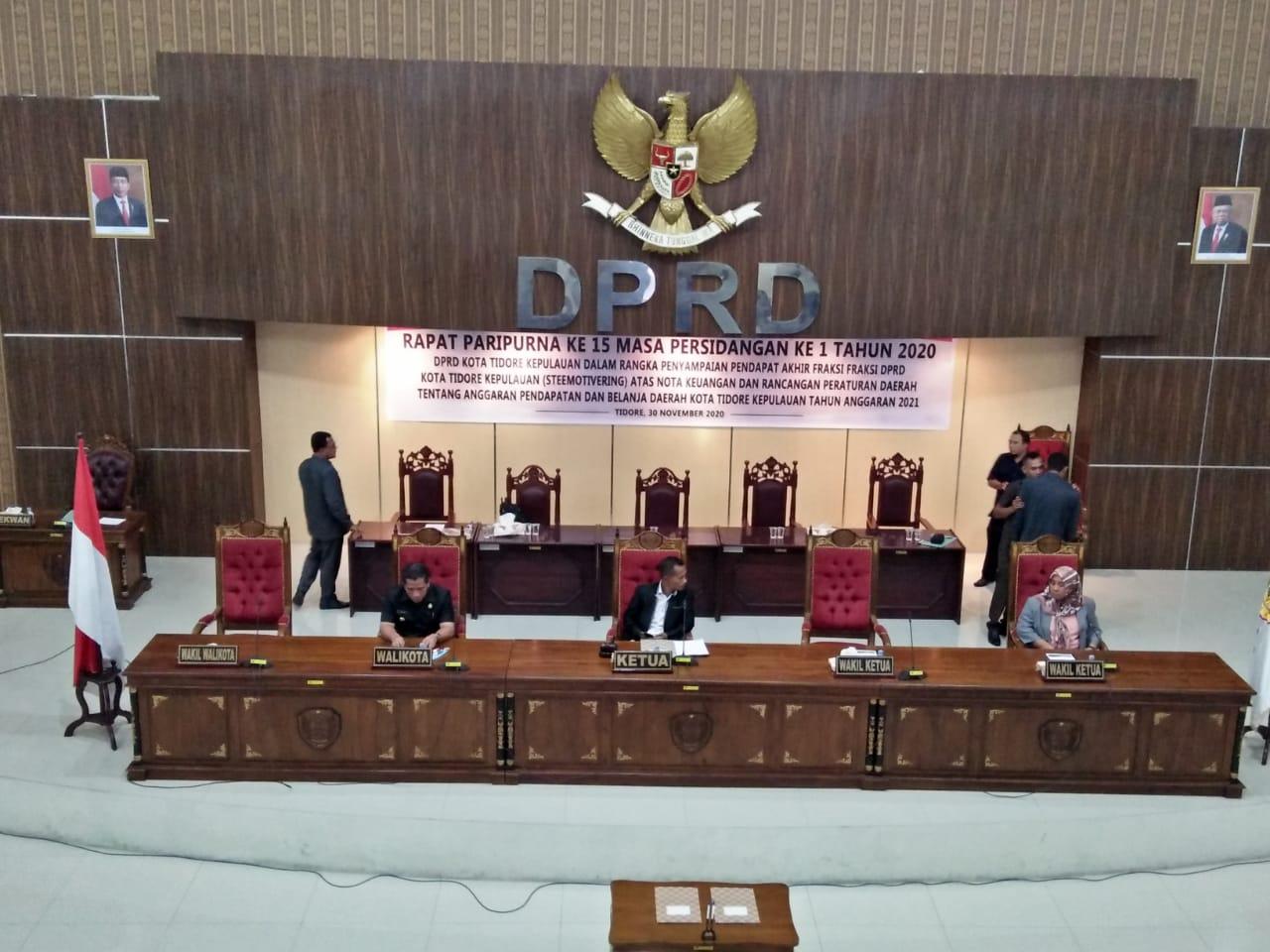 APBD 2021 Tikep dirancang Defisit Rp 65 Miliar