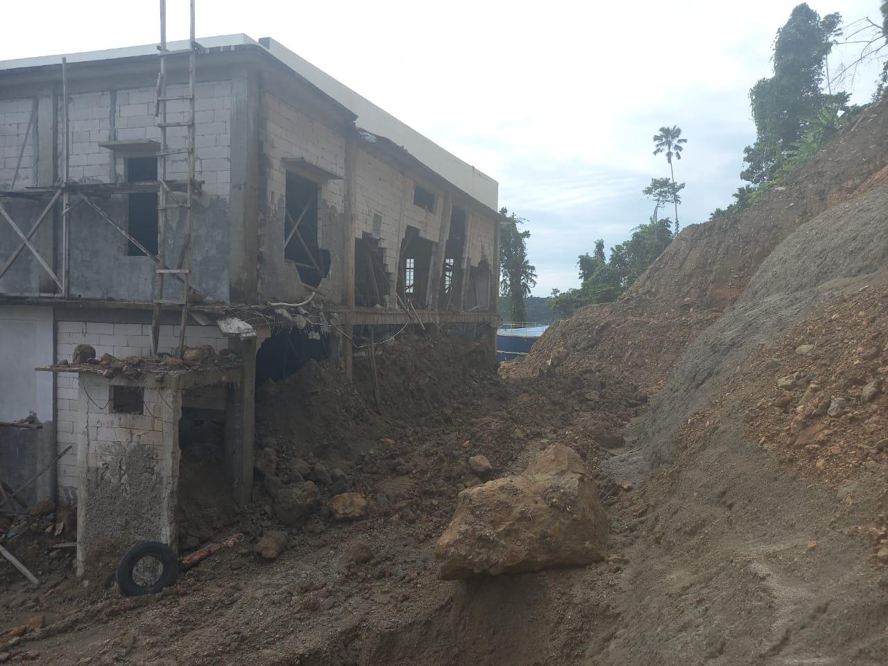 Diduga Salah Perencanaan, Proyek Reservoir di Fidi Jaya Terbengkalai