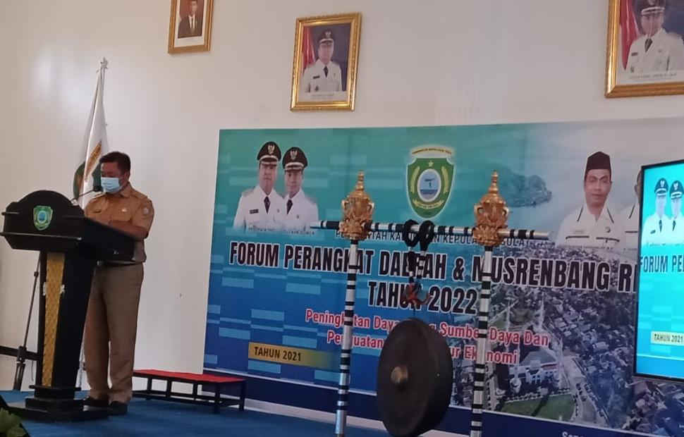 Bupati Kepsul Buka Musrenbang RKPD