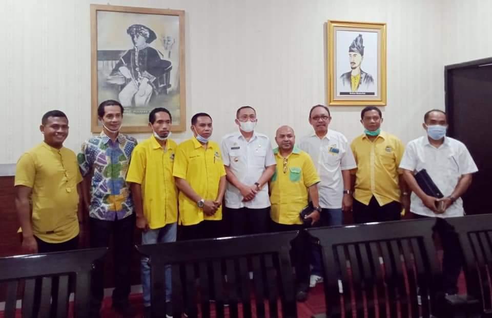 Dinilai Pro Rakyat, Golkar Nyatakan Mendukung Program Andalan Tauhid-Jasri
