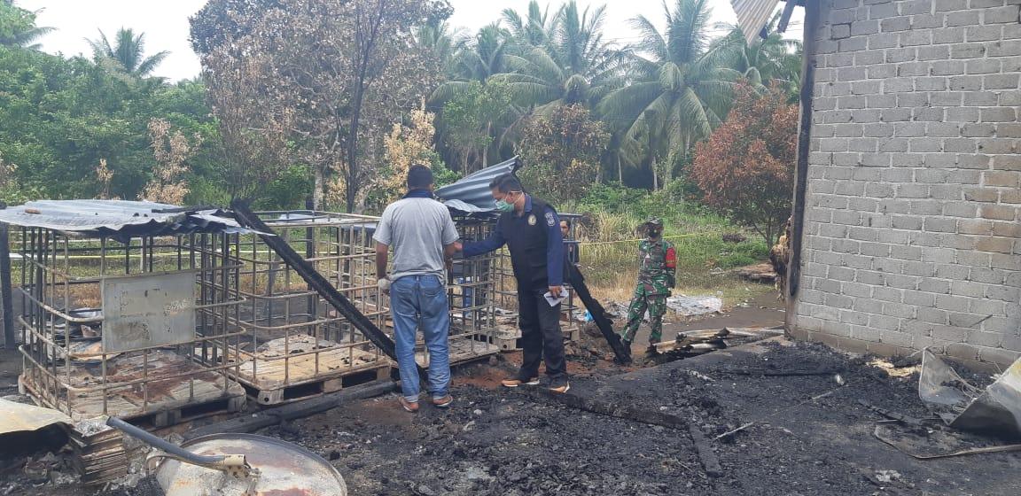 Tim Forensik Mulai Investigasi Pembakaran Rumah Di Bobanehena